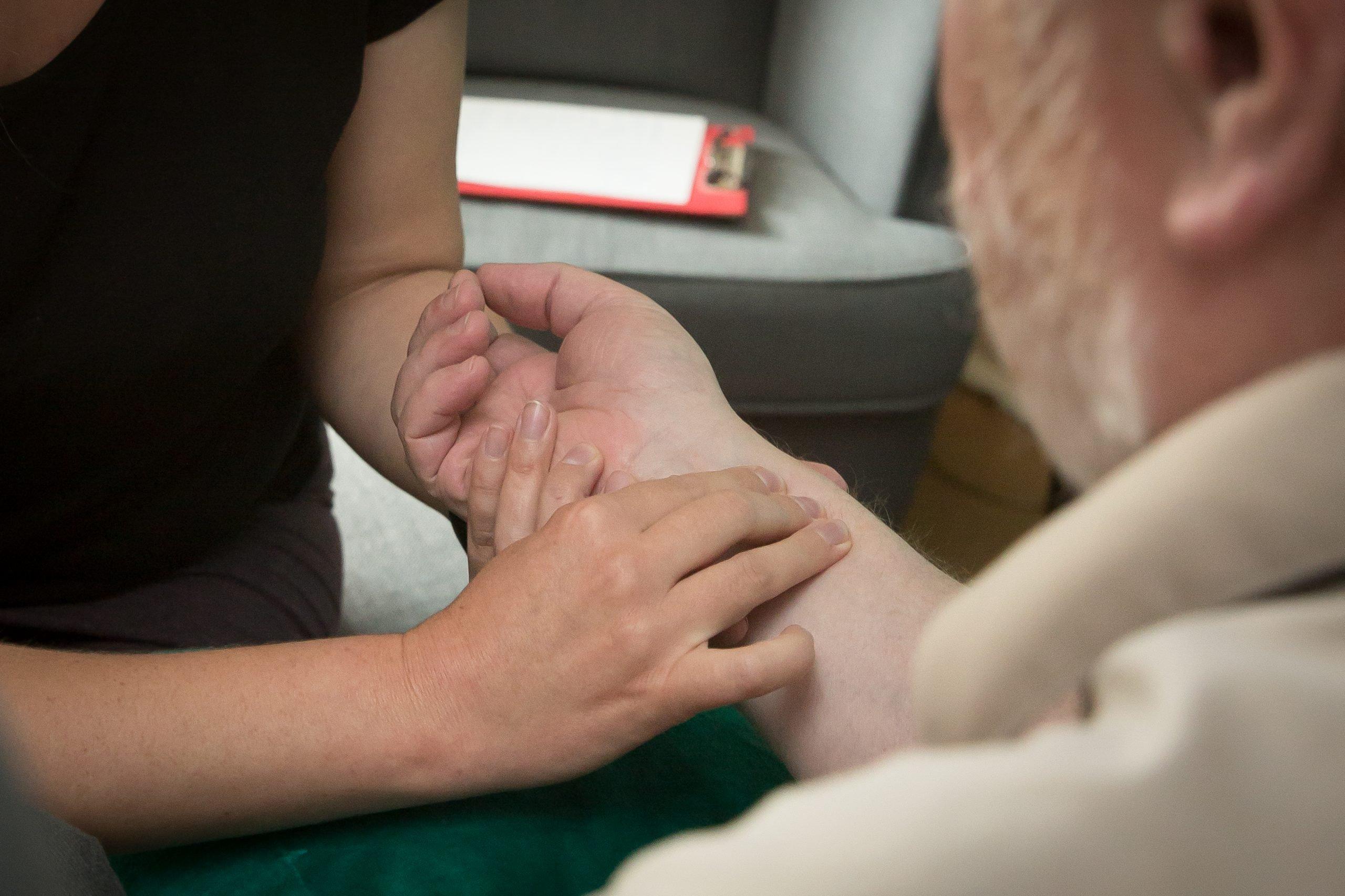 Practicing pulse diagnosis